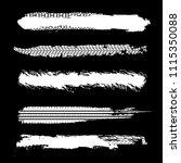 tire imprints  paint  ink brush ... | Shutterstock .eps vector #1115350088