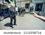bucharest  romania  may 15 ... | Shutterstock . vector #1115358716