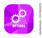 options violet square vector...   Shutterstock .eps vector #1115362676
