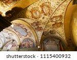 bologna italy   7th november... | Shutterstock . vector #1115400932