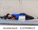 milan  italy   june  17  2018 ... | Shutterstock . vector #1115408615