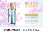perfume realistic style in a... | Shutterstock .eps vector #1115411462