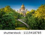 St. Petersburg. Russia. Fog...