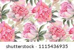 seamless pattern with... | Shutterstock . vector #1115436935