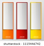 banner background. modern... | Shutterstock .eps vector #1115446742