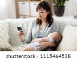 family  technology and... | Shutterstock . vector #1115464538