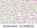 festival pattern with confetti... | Shutterstock .eps vector #1115480132
