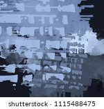 abstract painting on canvas.... | Shutterstock . vector #1115488475