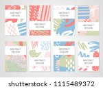 abstract colorful backgrounds... | Shutterstock .eps vector #1115489372