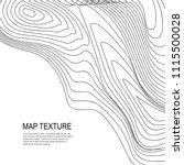 topographical vector background ... | Shutterstock .eps vector #1115500028