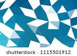 dark blue vector abstract... | Shutterstock .eps vector #1115501912