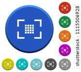 camera sensor settings round... | Shutterstock .eps vector #1115506928