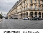 paris  france   june 11  2018 ... | Shutterstock . vector #1115512622
