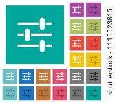 adjustment multi colored flat... | Shutterstock .eps vector #1115523815