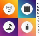 modern  simple vector icon set...   Shutterstock .eps vector #1115525516