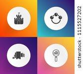 modern  simple vector icon set... | Shutterstock .eps vector #1115527202