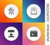 modern  simple vector icon set...   Shutterstock .eps vector #1115527256