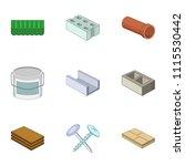 rack icons set. cartoon set of...   Shutterstock .eps vector #1115530442