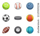 pace icons set. cartoon set of...   Shutterstock .eps vector #1115535236