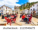 grazalema town  spain   may 12  ... | Shutterstock . vector #1115540675