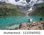 full length portrait of... | Shutterstock . vector #1115560502
