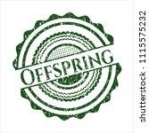 green offspring distressed...   Shutterstock .eps vector #1115575232