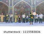bukhara  uzbekistan   may 26 ... | Shutterstock . vector #1115583836