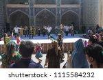 bukhara  uzbekistan   may 26 ... | Shutterstock . vector #1115584232