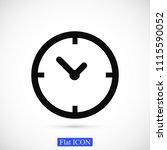 time vector icon  stock vector... | Shutterstock .eps vector #1115590052