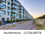 prora  germany   may 08  2018 ... | Shutterstock . vector #1115618078