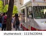 new york city   may  2018 ... | Shutterstock . vector #1115623046