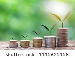 investment and financial... | Shutterstock . vector #1115625158