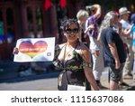 portland or  usa   june 17 ... | Shutterstock . vector #1115637086