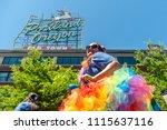 portland or  usa   june 17 ... | Shutterstock . vector #1115637116