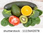 natural ingredients or products ... | Shutterstock . vector #1115642078