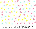 colored geometric pattern...   Shutterstock .eps vector #1115643518