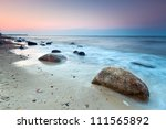 Baltic Sea Scenery At Sunset ...