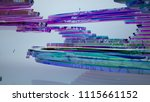 abstract white and colored... | Shutterstock . vector #1115661152