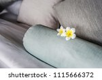 comfortable bed at a luxury... | Shutterstock . vector #1115666372