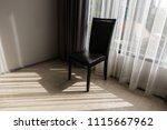 chair in room with sun light... | Shutterstock . vector #1115667962