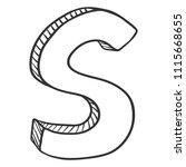 vector doodle sketch...   Shutterstock .eps vector #1115668655