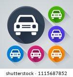 illustration of car circle...   Shutterstock .eps vector #1115687852