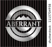 aberrant silvery emblem | Shutterstock .eps vector #1115704958