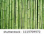 Green Bamboo Wood Wall...