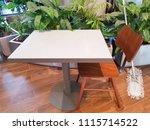 botanic style in the interior ... | Shutterstock . vector #1115714522