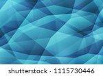 light blue vector triangle... | Shutterstock .eps vector #1115730446