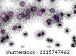 light colored vector pattern... | Shutterstock .eps vector #1115747462
