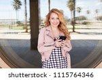 portrait of retro solo... | Shutterstock . vector #1115764346