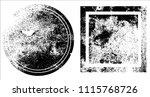 grunge texture set | Shutterstock .eps vector #1115768726