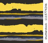 seamless grunge stripes.... | Shutterstock .eps vector #1115774246